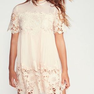 NWT blush Saylor for Free People Lace Dress